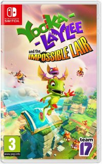 Диск Yooka-Laylee and the Impossible Lair [NSwitch]