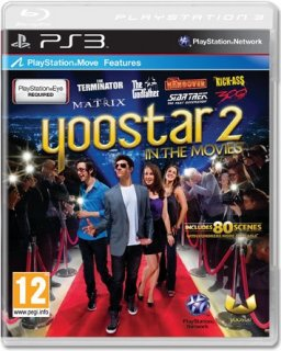 Диск Yoostar 2: In the Movies (Б/У) [PS3, PS Move]