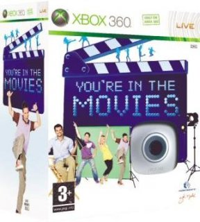 Диск You're in the Movies + Камера (Б/У) [X360]