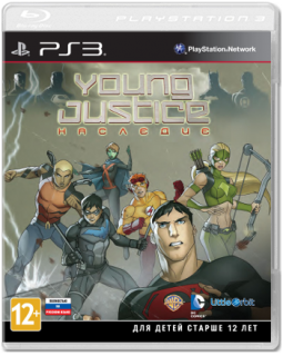 Диск Young Justice: Наследие [PS3]