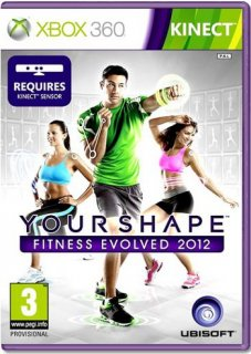 Диск Your Shape: Fitness Evolved 2012 [X360, MS Kinect]