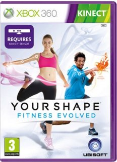 Диск Your Shape: Fitness Evolved [X360, MS Kinect]