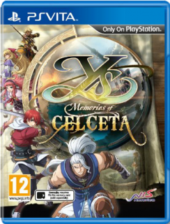 Диск Ys: Memories of Celceta (Б/У) [PS Vita]