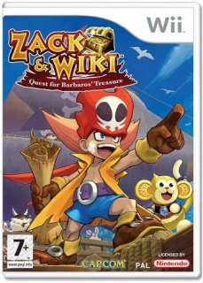 Диск Zack & Wiki: Quest for Barbaros Treasure (Б/У) [Wii]