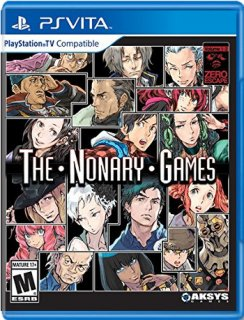 Диск Zero Escape: The Nonary Games (US) [PS Vita]