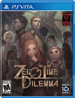 Диск Zero Escape: Zero Time Dilemma (Б/У) [PSVita]