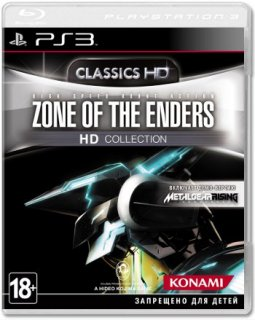 Диск Zone of the Enders HD Collection [PS3]