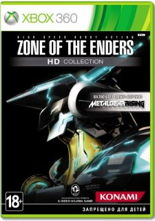 Диск Zone of the Enders HD Collection (Б/У) [X360]