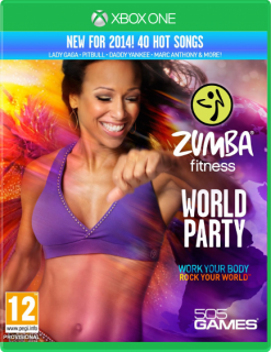 Диск Zumba Fitness: World Party [Xbox One]