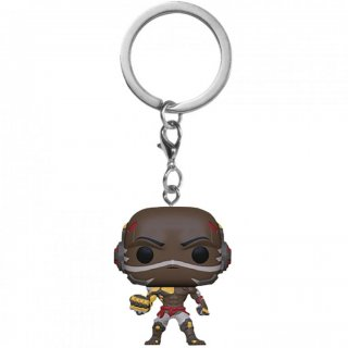 Диск Брелок Funko Pocket POP! Keychain: Overwatch: Doomfist