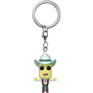 Диск Брелок Funko Pocket POP! Keychain: Rick & Morty: Mr. Poopy Butthole (Auctioneer)