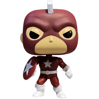 Диск Фигурка Funko POP! Bobble: Marvel: Year of the Shield: Red Guardian (Exc) #810