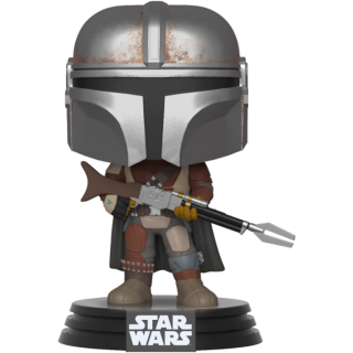 Диск Фигурка Funko POP! Bobble: Star Wars: The Mandalorian: The Mandalorian #326