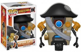 Диск Фигурка Funko POP Games Borderlands: Emperor Claptrap #208