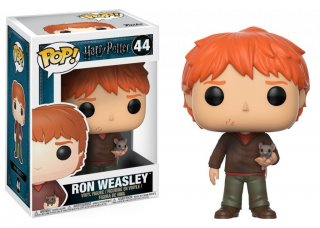 Диск Фигурка Funko POP Harry Potter: Ron Weasley With Scabbers #44