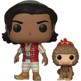 Диск Фигурка Funko POP! Vinyl: Disney: Aladdin: Aladdin of Agrabah with Abu #538