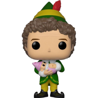 Диск Фигурка Funko POP! Vinyl: Elf: Buddy (w/ Baby) (Exc) #639