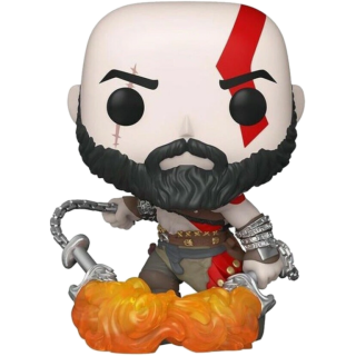Диск Фигурка Funko POP! Vinyl: Games: God of War: Kratos with the Blades of Chaos (GW) (Exc) #154