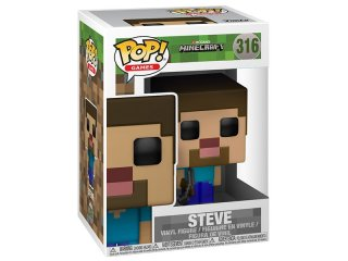 Диск Фигурка Funko POP! Vinyl: Games: Minecraft: Steve #316