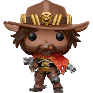 Диск Фигурка Funko POP! Vinyl: Games: Overwatch: McCree #182