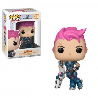 Диск Фигурка Funko POP! Vinyl: Games: Overwatch S3: Zarya