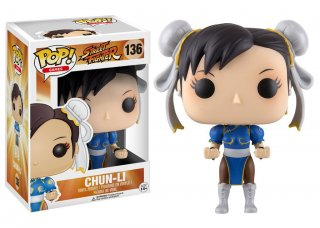 Диск Фигурка Funko POP! Vinyl: Games: Street Fighter: Chun-Li #136
