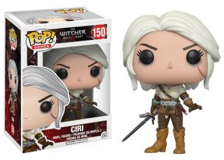 Диск Фигурка Funko POP! Vinyl: Games: The Witcher: Ciri #150