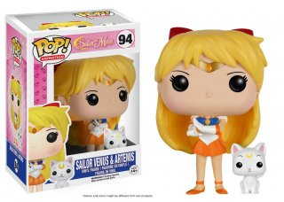 Диск Фигурка Funko POP! Vinyl: Sailor Moon: Sailor Venus & Artemis #94