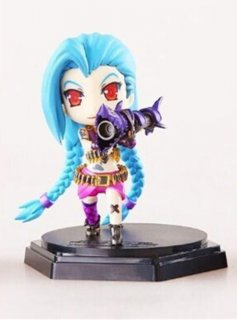 Диск Фигурка League of Legends Jinx Q 12CM