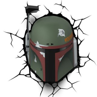 Диск Декоративный LED светильник 3D-Light-FX (3D Star Wars - Boba Fett)