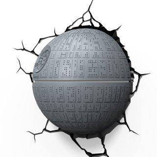 Диск Декоративный LED светильник 3D-Light-FX (3D Star Wars - Death Star)