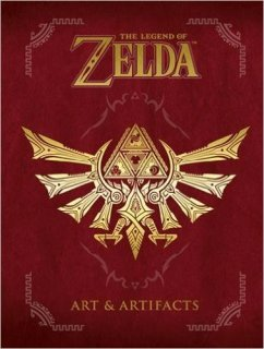 Диск Артбук The Legend of Zelda: Art and Artifacts