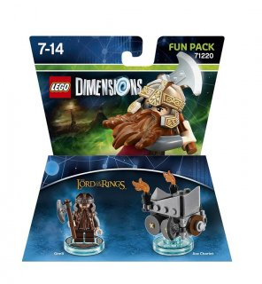 Диск Lego Dimensions - Lord of the Rings - Gimly Fun Pack