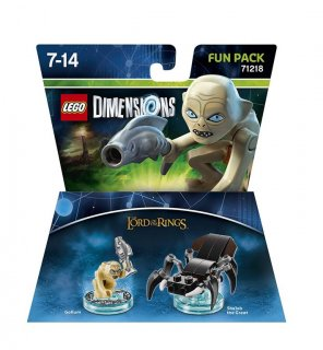 Диск Lego Dimensions - Lord of the Rings - Gollum Fun Pack