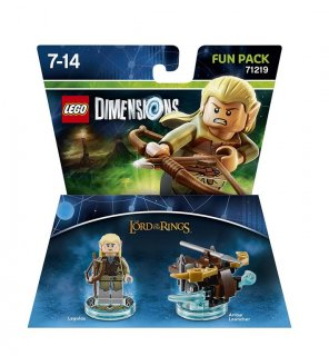Диск Lego Dimensions - Lord of the Rings - Logolas Fun Pack