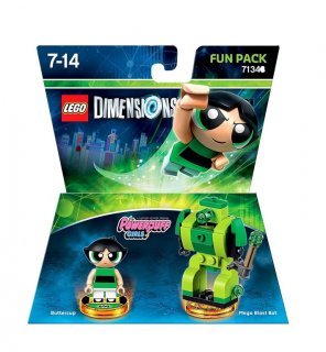 Диск Lego Dimensions - Powerpuff Girls - Buttercup Fun Pack