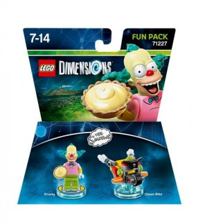 Диск Lego Dimensions - The Simpsons - Krusty Fun Pack