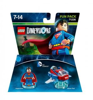 Диск  Lego Dimensions - Superman Fun Pack