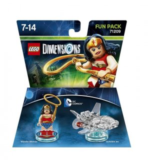 Диск Lego Dimensions - Wonder Woman Fun Pack