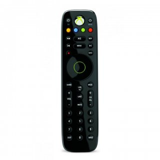 Диск Пульт ДУ Microsoft Remote Control (Model-1493), черный (Б/У)