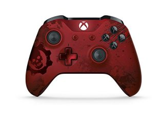 Диск Microsoft Wireless Controller Xbox One Gears of War 4 Crimson Omen