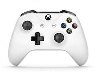 Диск New Microsoft Wireless Controller Xbox One (белый)