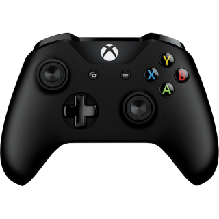 Диск New Microsoft Wireless Controller Xbox One (чёрный)