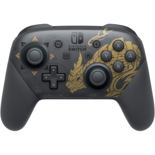 Диск Nintendo Switch Pro Controller - Monster Hunter Rise Edition