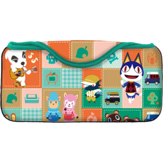 Диск Мягкий чехол для Nintendo Switch, Quick Pouch Collection - Animal Crossing (Type-A)