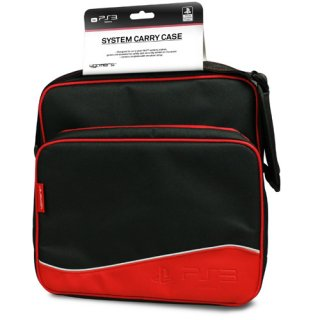 Диск Сумка для консоли PS3 (System Carry Case A4T) красная