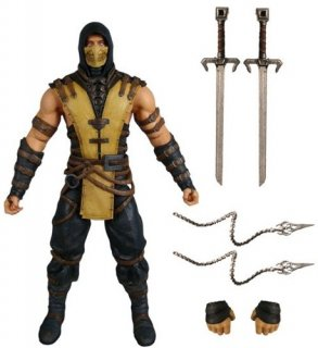 Диск Фигурка Scorpion (Mortal Kombat X)