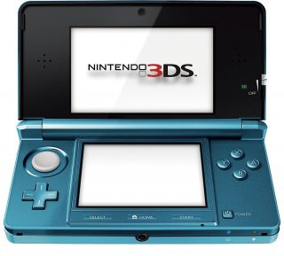 Диск Nintendo 3DS (Aqua Blue) (Б/У)