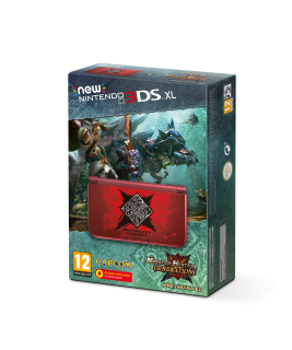 Диск New Nintendo 3DS XL - Monster Hunter Generations Edition