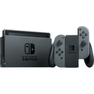 Диск Nintendo Switch (Grey) [Улучшенная батарея] (Б/У)